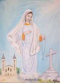 Picture of Our Lady of Medjugorje